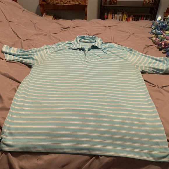 Nike Other - NIKE GOLF FIT DRY Men's Blue SS Shirt. Size Medium